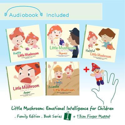 Family Edition - Series 1 (5books) + 1 Finger Muppet (13cm)