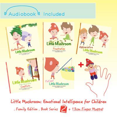 Family Edition - Series 2 (5books) + 1 Finger Muppet (13cm)