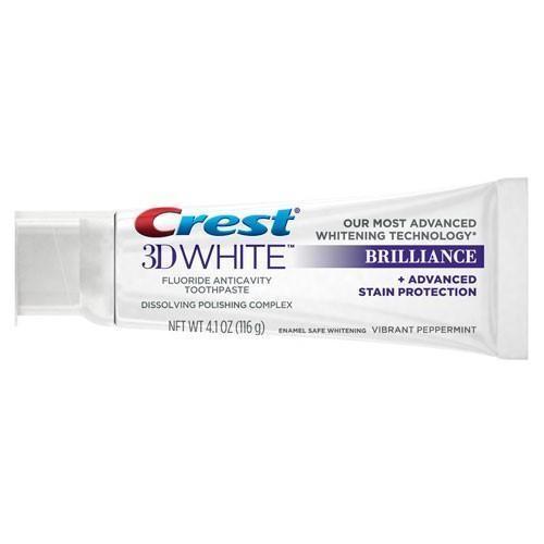 Crest 3D White Brilliance Toothpaste 4.1oz