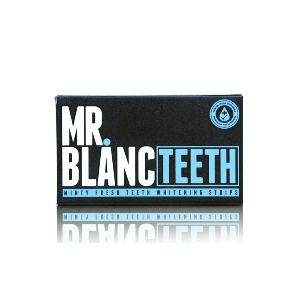 MR. BLANC TEETH WHITENING STRIPS - 2 WEEK SUPPLY