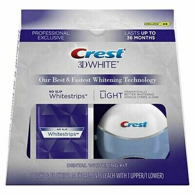Crest 3D White Whitestrips Professional Supreme AdvancedSEAL + Light
