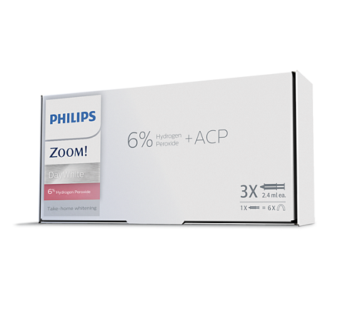 Philips Zoom! DayWhite 6% 3 Pack