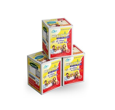 Health Up (Strip Box)-Pack of 3