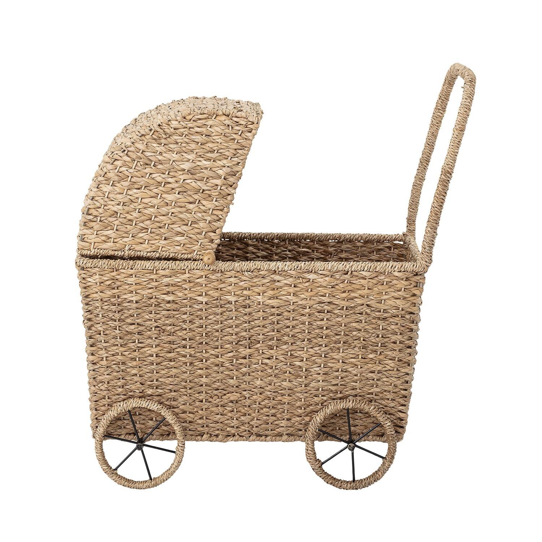 Žaislinis Vežimėlis Iš Bankuano žolės