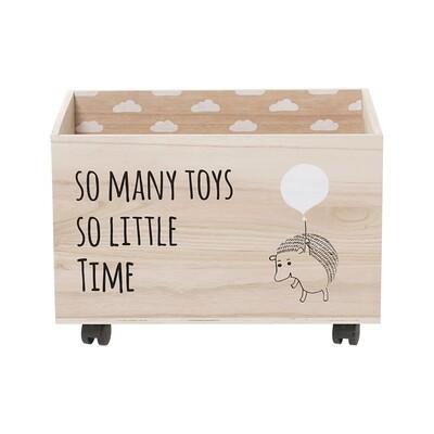 """Žaislų dėžė """"Ežiukas"""""""