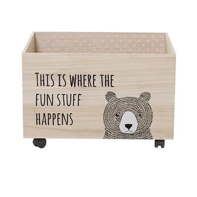 """Žaislų dėžė """"Meškutis"""""""