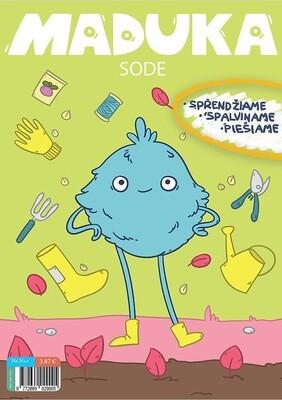 """Maduka """"Sode"""" žurnaliukas vaikams nuo 2-4 metų"""