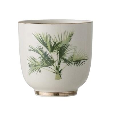 "Puodukai ""Aruba"", žalia, keramika, 12 vnt"