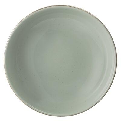 """Gilios Lėkštės """"Pavasaris"""", žalia, keramika, 12 vnt"""