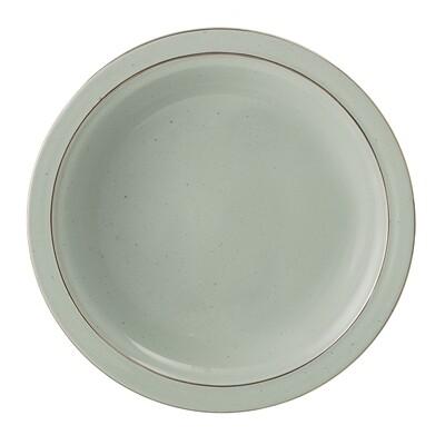 """Gilios Lėkštės """"Pavasaris"""" sriubai, žalia, keramika, 12 vnt"""
