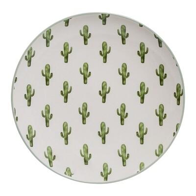 """Lėkštės """"Žali Kaktusai"""" 12 vnt"""