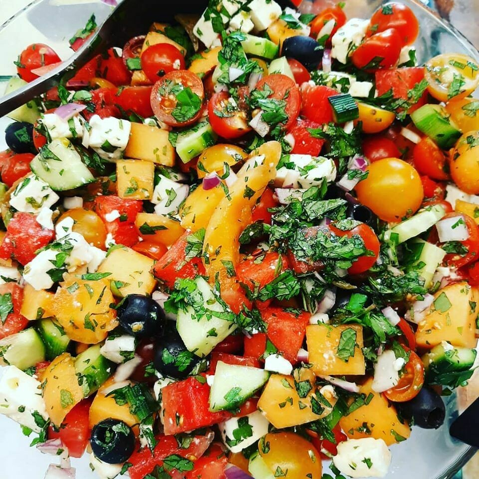 La salade du jour