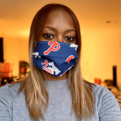 Phillies Face Mask