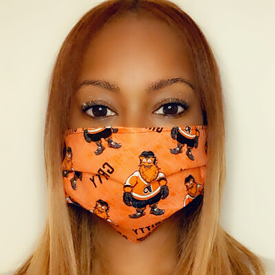 Gritty Flyers Face Mask