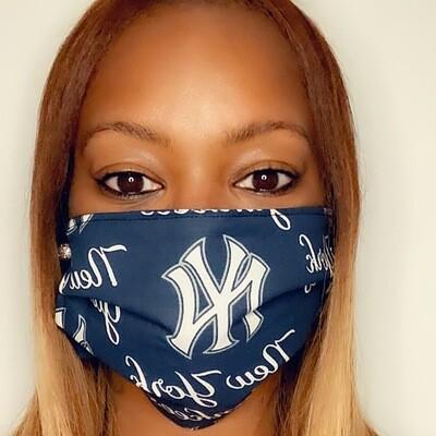 NY Yankees Face Mask