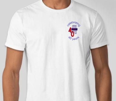 AACC 40th Anniversary Short Sleeve Shirt (Unisex)