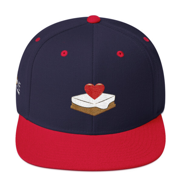 S'mores Amore Snapback Hat