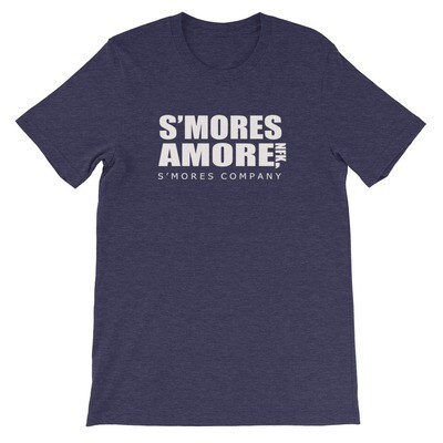 "S'mores Amore ""Office"" Short-Sleeve Unisex T-Shirt (Traditional Collar)"