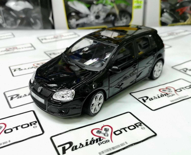 1:24 Volkswagen Golf A5 GTi 2004 Negro 4 Puertas Cararama En Display / A Granel
