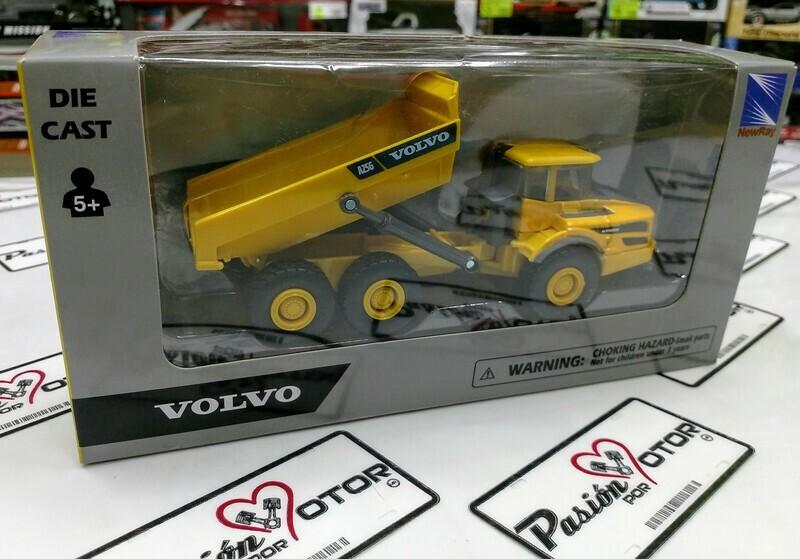 1:72 Volvo A25G Volteo Articulado New Ray Maquinaria