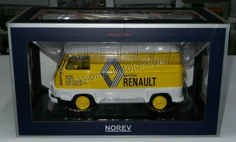 1:18 Renault Estafette Panel 1972 Service Norev