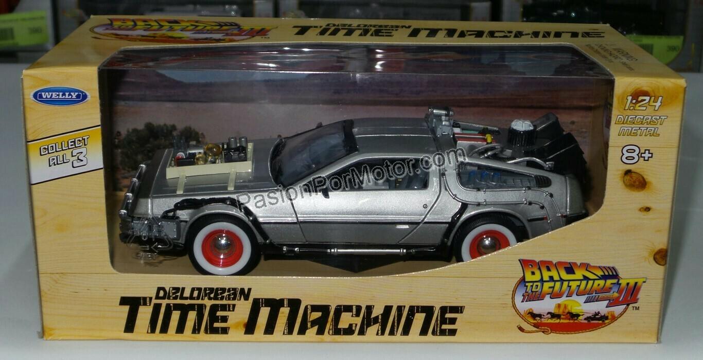 1:24 DMC DeLorean Volver al Futuro III Back To The Future Welly