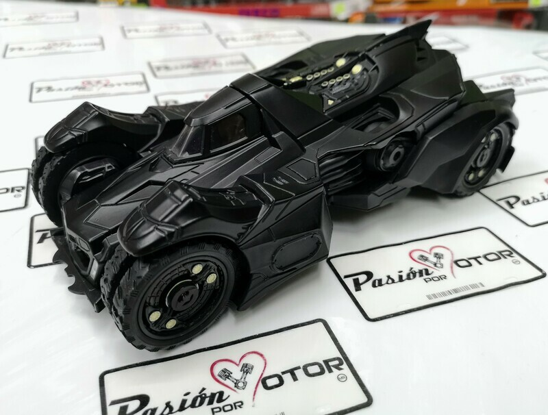 1:24 Batimovil Batman Arkham Knight 2015 Jada Toys Metals DC Comics En Display / A Granel