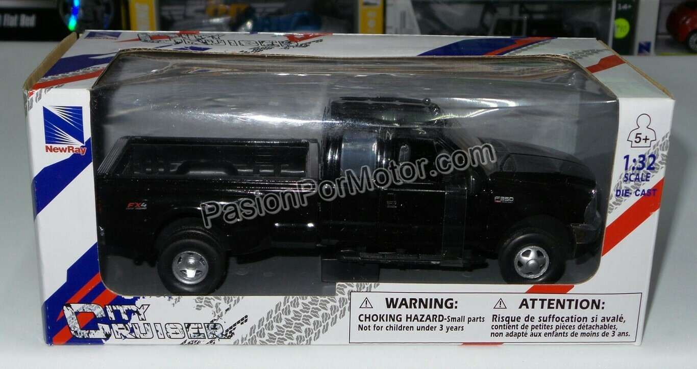 1:32 Ford F-350 Super Duty FX4 1999 Negro Pick Up New Ray