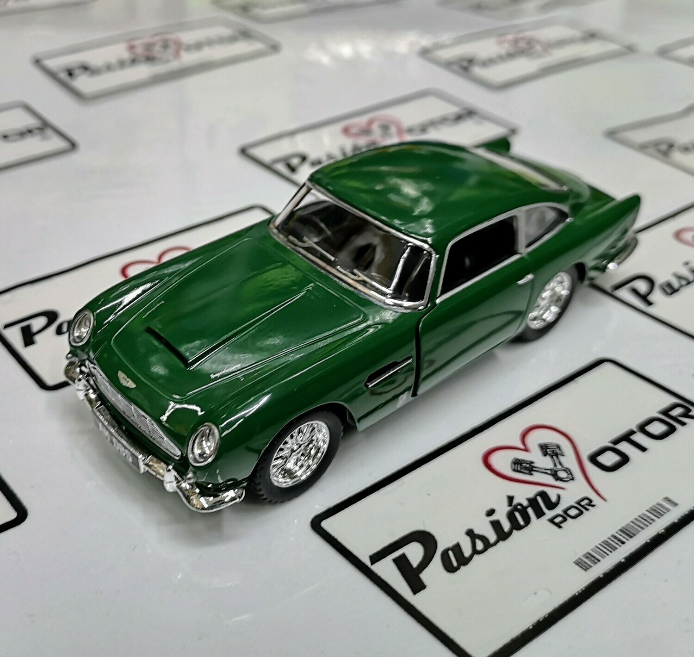 1:38 Aston Martin DB5 1963 Verde Kinsmart En Display a Granel 1:32