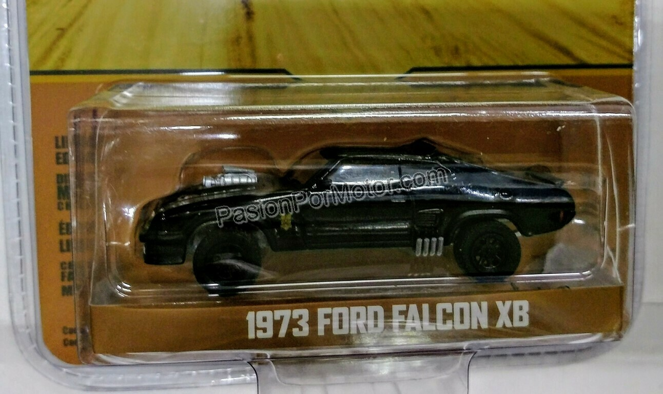 1:64 Ford Falcon XB 1973 Last Of The V8 Interceptor ( Mad Max ) Greenlight Hollywood Serie 17