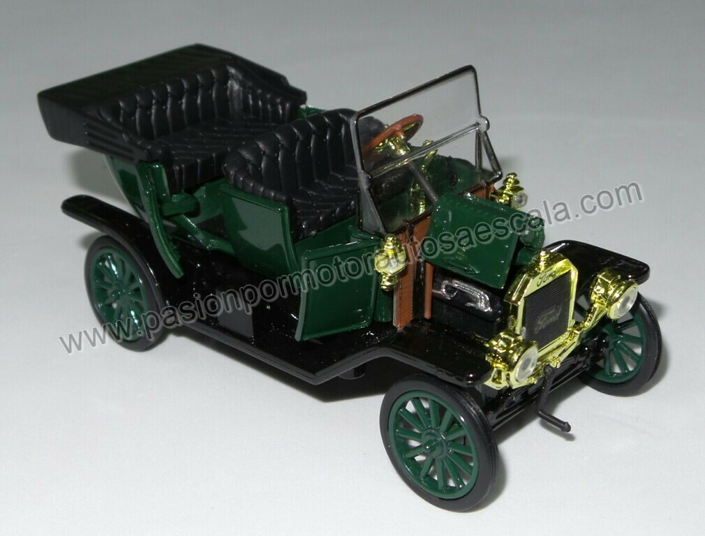 1:32 Ford Modelo T 1910 Verde Carcacha New Ray