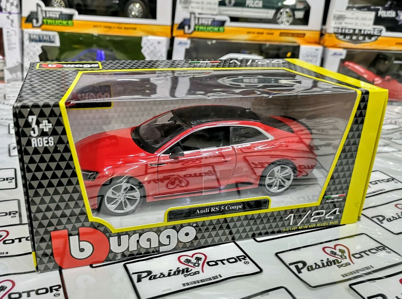 1:24 Audi RS 5 Coupe 2018 Rojo Bburago C Caja