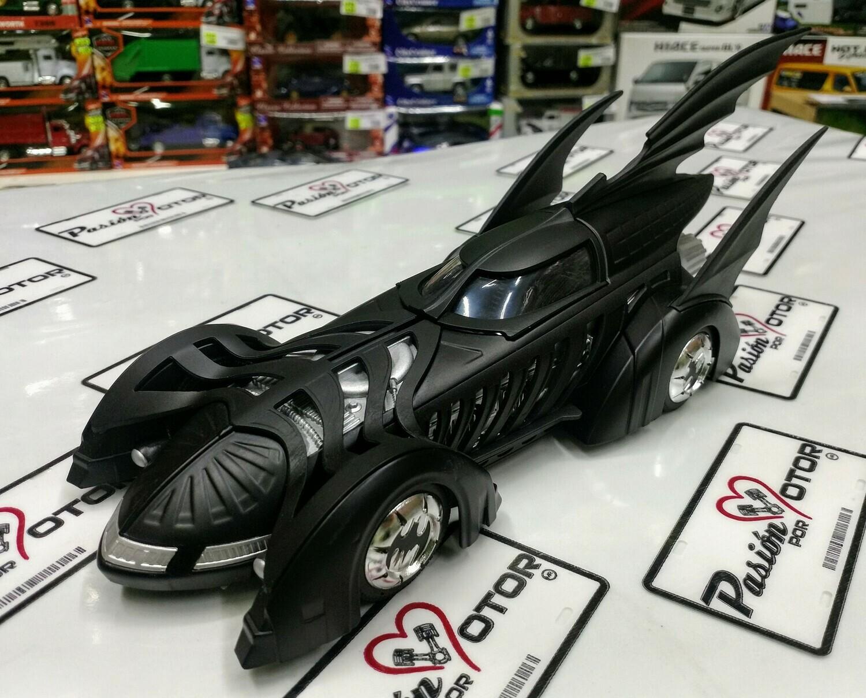 1:24 Batimovil 1995 Batman Forever C Figura Jada Toys Metals DC Comics En Caja