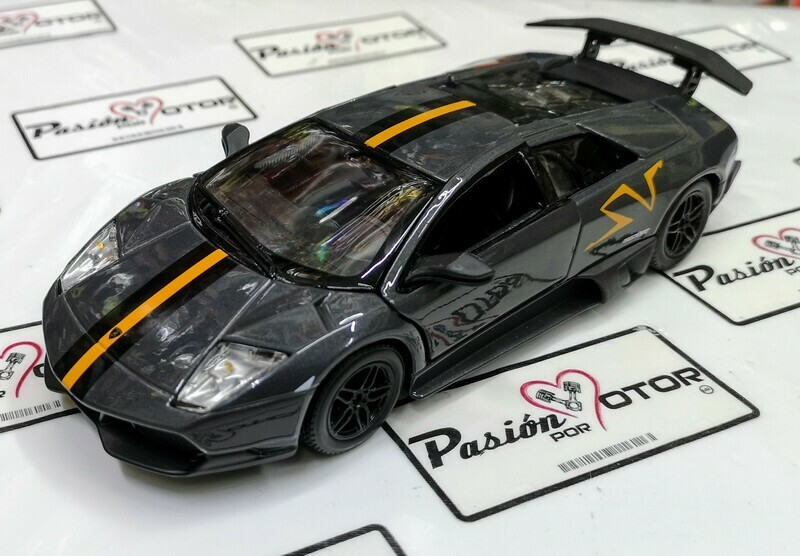 1:24 Lamborghini Murcielago LP670-4 SV China Edition 2010 Gris Bburago En Display / A Granel