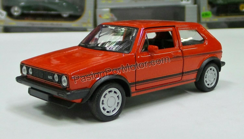 1:32 Volkswagen Golf GTi MK1 A1 1983 Rojo Fricción Welly En Display a Granel