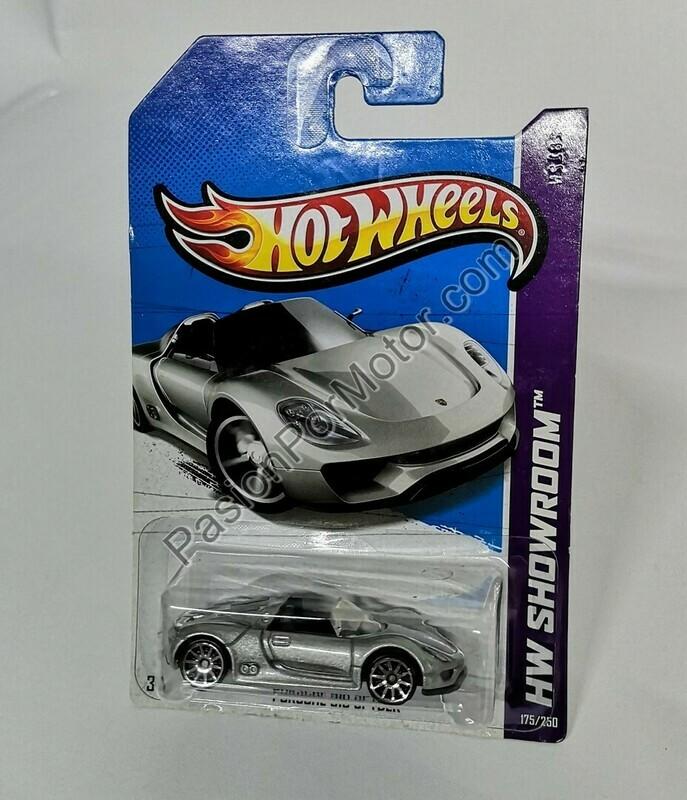 1:64 Porsche 918 Spyder Hot Wheels Básico 2013 HW Showroom 175/250