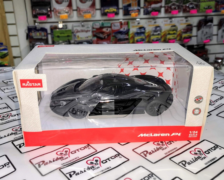 1:24 McLaren P1 2012 Negro Rastar C Caja