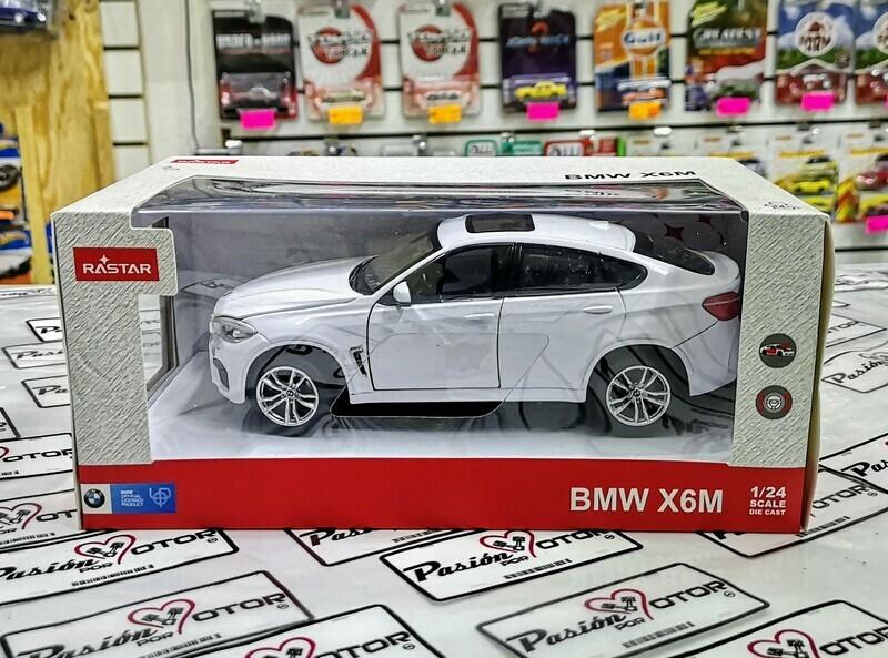 1:24 BMW X6 M 2015 F16 Blanco Rastar C Caja