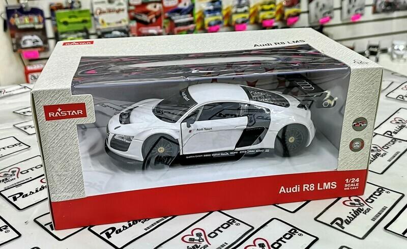 1:24 Audi R8 LMS 2009 Blanco Rastar C Caja