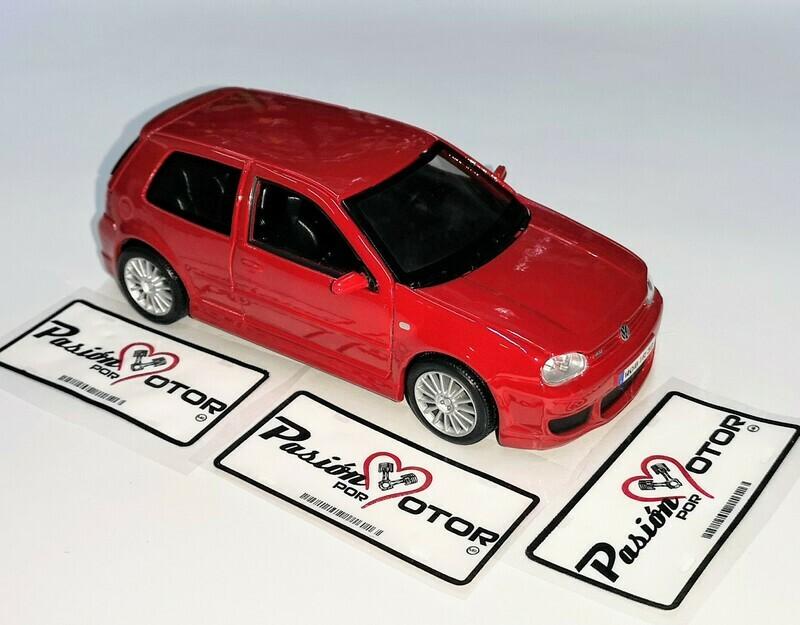 1:24 Volkswagen Golf A4 R32 2002 Rojo Maisto Special Edition En Display / a Granel