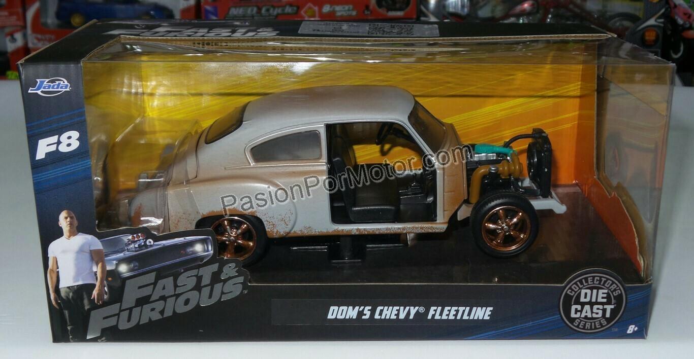 1:24 Chevrolet Fleetline 1951 Junkyard Dom´s Rapido Y Furioso 8 Jada Toys En Caja