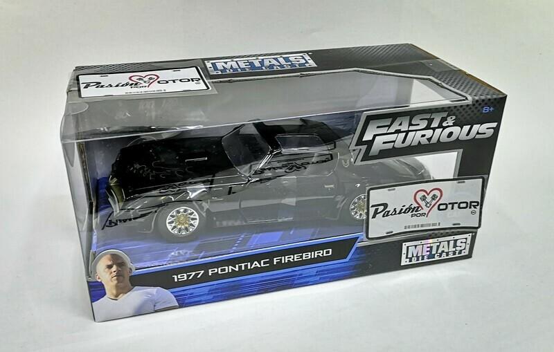 1:24 Pontiac Firebird Trans Am 1977 Rapido y Furioso 4 Jada Toys C Caja