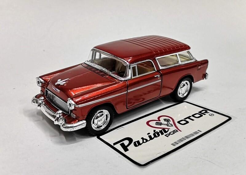 1:40 Chevrolet Nomad 1955 Cobre Kinsmart En Display / a Granel 1:32