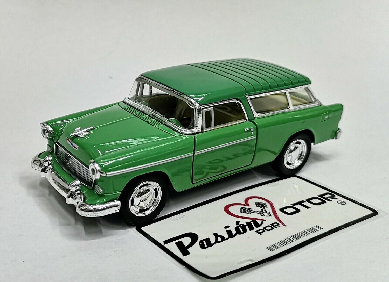 1:40 Chevrolet Nomad 1955 Verde Kinsmart En Display / a Granel 1:32