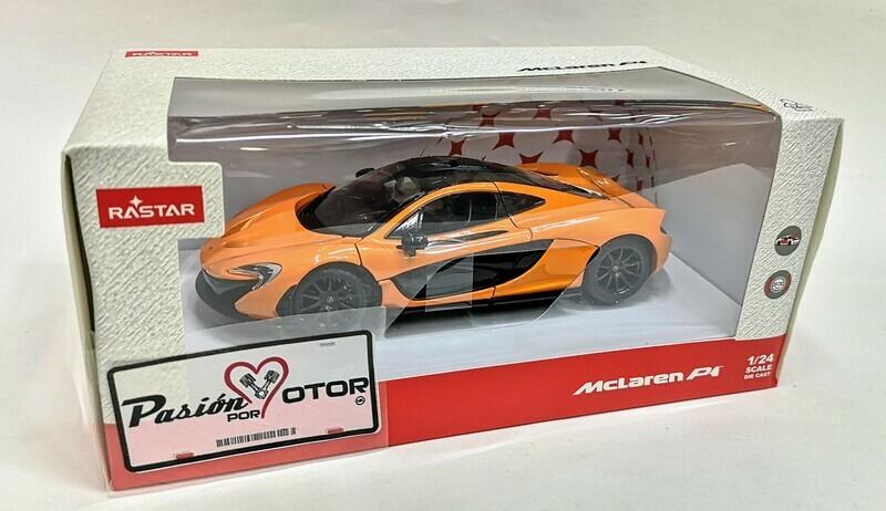 1:24 McLaren P1 2012 Naranja Rastar C Caja