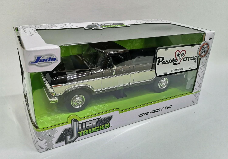 1:24 Ford F-150 Pick Up Caja Larga 1979 Bitono Cafe Beige Jada Toys - Just Trucks En Caja