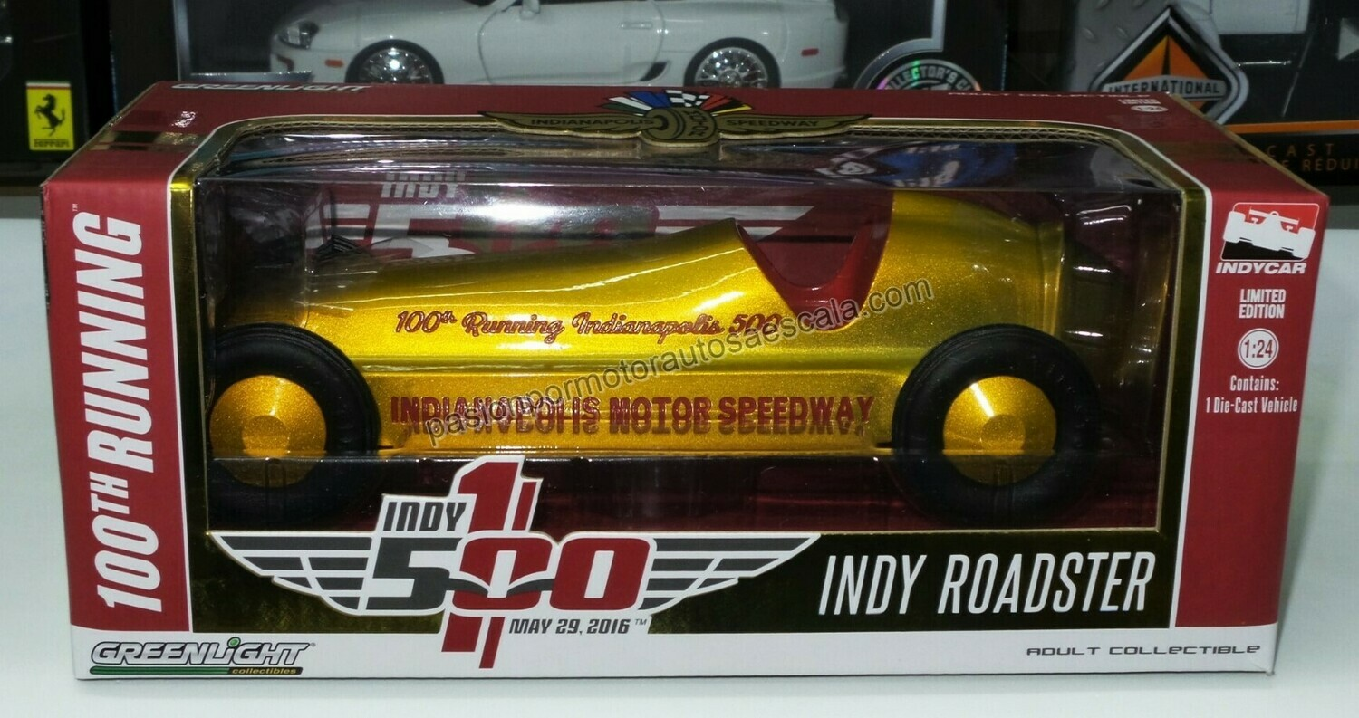 1:24 Indy Roadster 100 Th Anniversary Indy 500  Greenlight