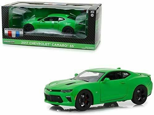 1:24 Chevrolet Camaro Coupe 2017 Verde Krypton Greenlight