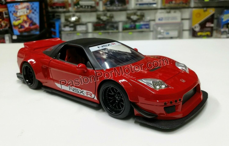 1:24 Honda NSX Type R 2002 Rojo Jada Toys JDM Tuners En Display / A Granel