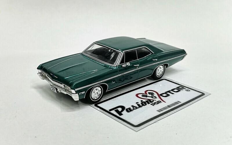 1:43 Chevrolet Impala Sedan 1968 Verde Ixo